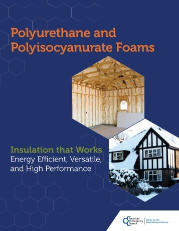 Polyurethane and Polyisocyanurate Foams: Insulation That Works