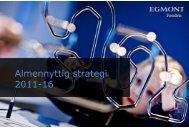 Almennyttig strategi 2011-16