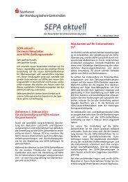 Ausgabe 11/2012 - Sparkasse Wiehl