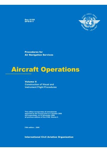 Aircraft Operations. Volume II - Construction of Visual and Instrument ...