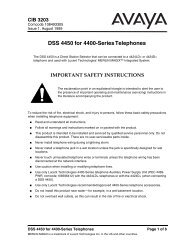 DSS 4450 for 4400-Series Telephones
