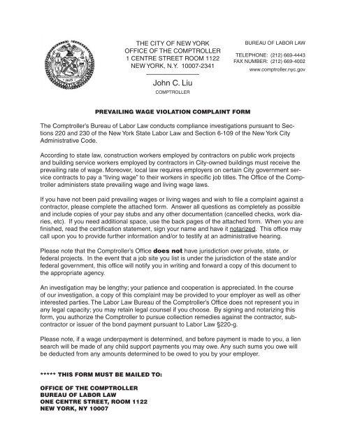 John C  Liu - New York City Comptroller - NYC gov