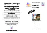 ZIMMERKAT. - Hotel Laret Samnaun Engadin