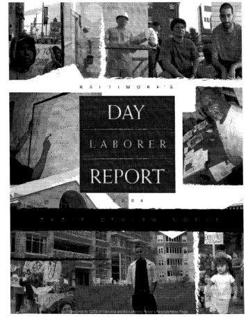 Baltimore Day Laborer Report: December 2004 - Casa de Maryland