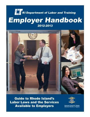 Employer Handbook - Rhode Island Department of Labor and ...