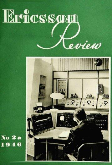 No 2a 1946 - History of Ericsson - History of Ericsson