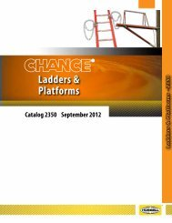 Ladders & Platforms - Hubbell Power Systems
