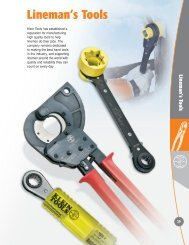 Lineman's Tools - Klein Tools