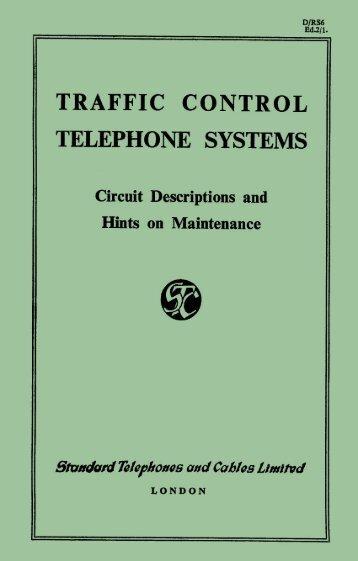TRAFFIC CONTROL TELEPHONE SYSTEMS Circuit - Sam Hallas