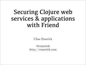 Emerick-Friend-Clojure-Web-Security