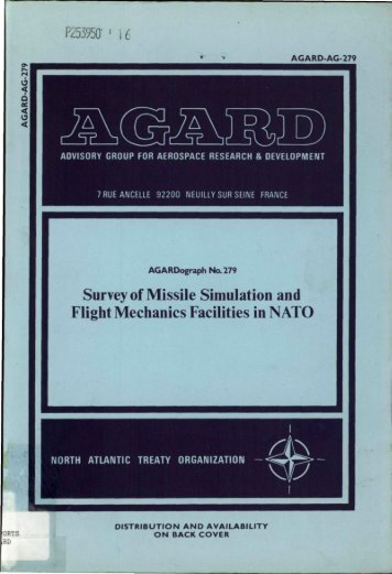 Survey of Missile Simulation and Flight Mechanics Facilities in NATO