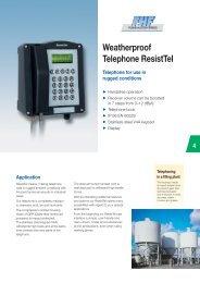 Weatherproof Telephone ResistTel - Phone Master