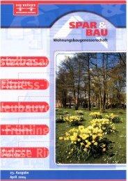 Mitgliederzeitung Nr.. - und Baugesellschaft  eG