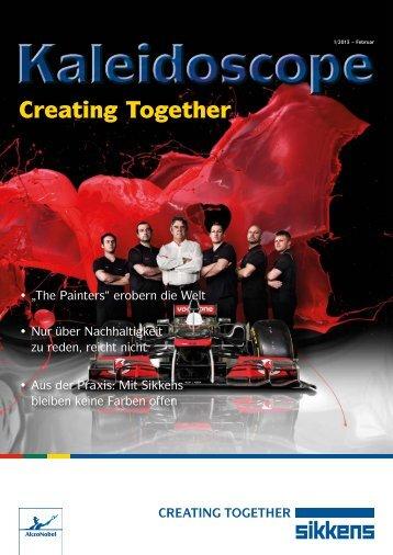 "Neuer Teil der ""Creating Together"" - Sikkens GmbH"