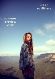 urban outfitters summer preview 2012 - Urban Outfitters Public ...