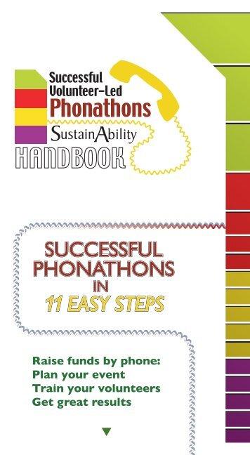 Phonathon Handbook - National Service Resource Center