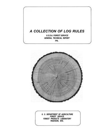 A Collection of Log Rules - Forest Enterprise Institute