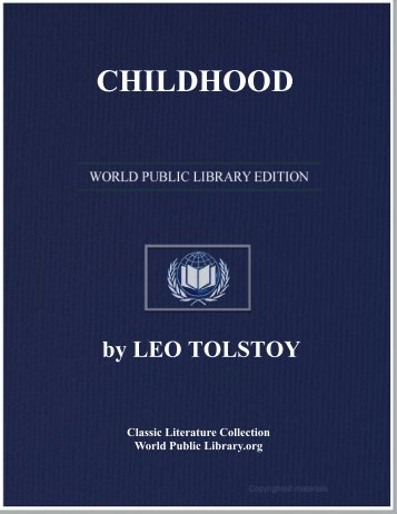 CHILDHOOD - World eBook Library - World Public Library