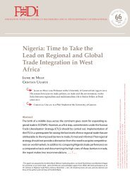 Nigeria: Time to Take the Lead on Regional and Global Trade ...