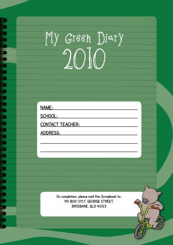 My Green Diary - Green Lane Diary