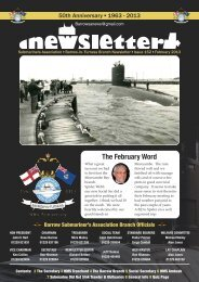 February 2013 - Barrow Submariners Association