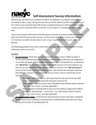 Administrator Information Packet - National Association for the ...