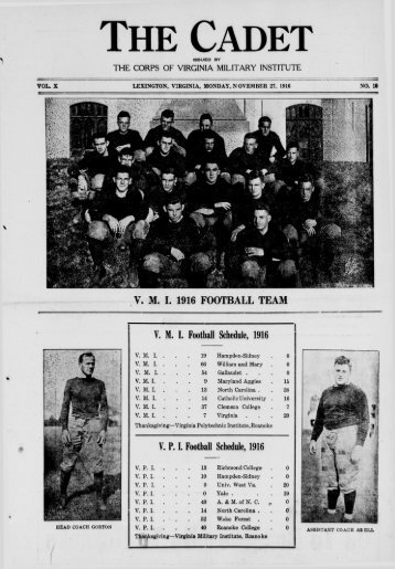 1916 November 27 - New Page 1 [www2.vmi.edu] - Virginia Military ...