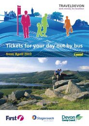 Tickets for your day out by bus - Journey Devon