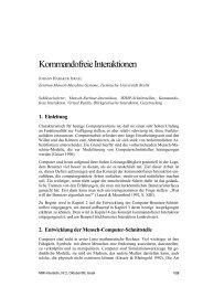 4. Kommandofreie Interaktionen - MMI-Interaktiv