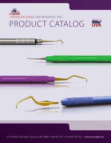 2013 AEI Product Catalog - American Eagle Instruments