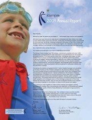 2009 Annual Report - Kempe Children's Center