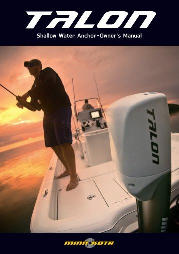 Shallow Water Anchor-Owner's Manual - Minn Kota