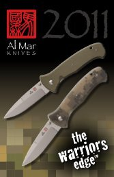 to view our current catalog - Al Mar Knives