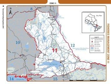 2013 Ontario Fishing Regulations Summary - FMZ 11