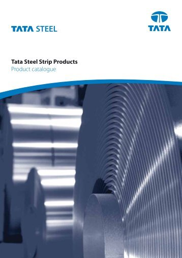 Tata Steel Strip Products Product catalogue - Tata Steel in the Lifting ...