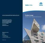 Product range - Tata Steel