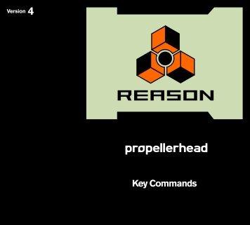 Key Commands - Propellerhead