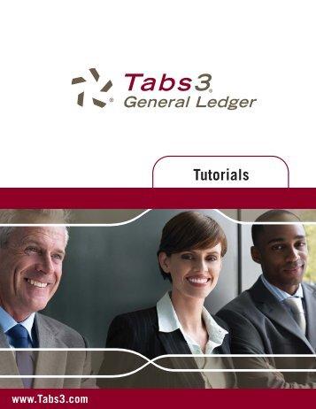 Tabs3 General Ledger Software Version 16 Tutorial