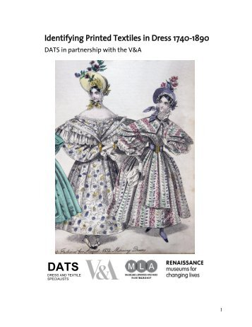MLA funded 'Back to Basics' workshops project - Dress and Textile ...