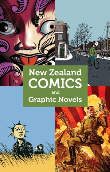 New Zealand Comics and Graphic Novels - Hicksville Press