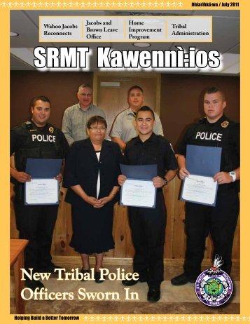 SRMT Kawenně:ios - Saint Regis Mohawk Tribe