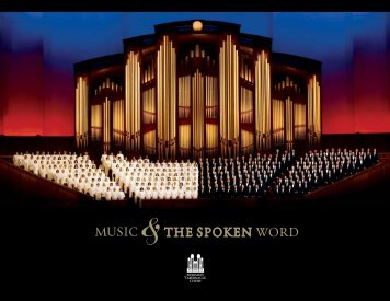 Download a Brochure - Music & the Spoken Word