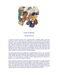 Crystals And Gemstones - Light Oracle