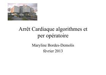 Arrêt cardiaque - CHU - Montpellier