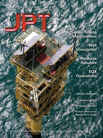 JPT 2011 Cover and Table of Contents - Society of Petroleum ...