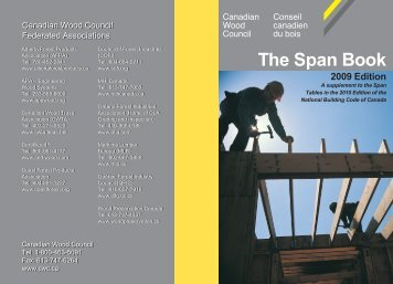 The Span Book - Canadian Wood Council