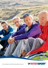 Geschäftsbericht 2010/2011 - Intersport