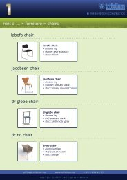 rent a ... » furniture » chairs labofa chair jacobsen chair dr globe ...