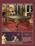 Brunswick Catalog - Brunswick Billiards - Page 3