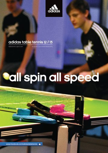 Download new adidas leisure catalogue 2012/2013 - adidas Table ...